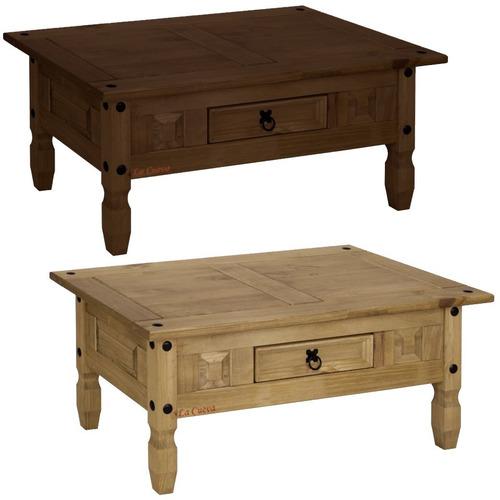 mesa ratona - central - living - mueble - madera pino - lcm