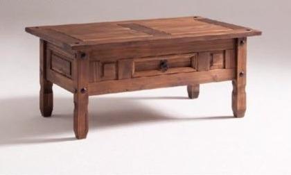 mesa ratona central mueble madera