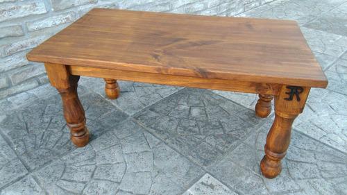 mesa ratona en madera