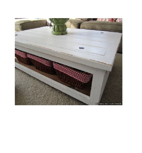 mesa ratona laqueada blanca crear home