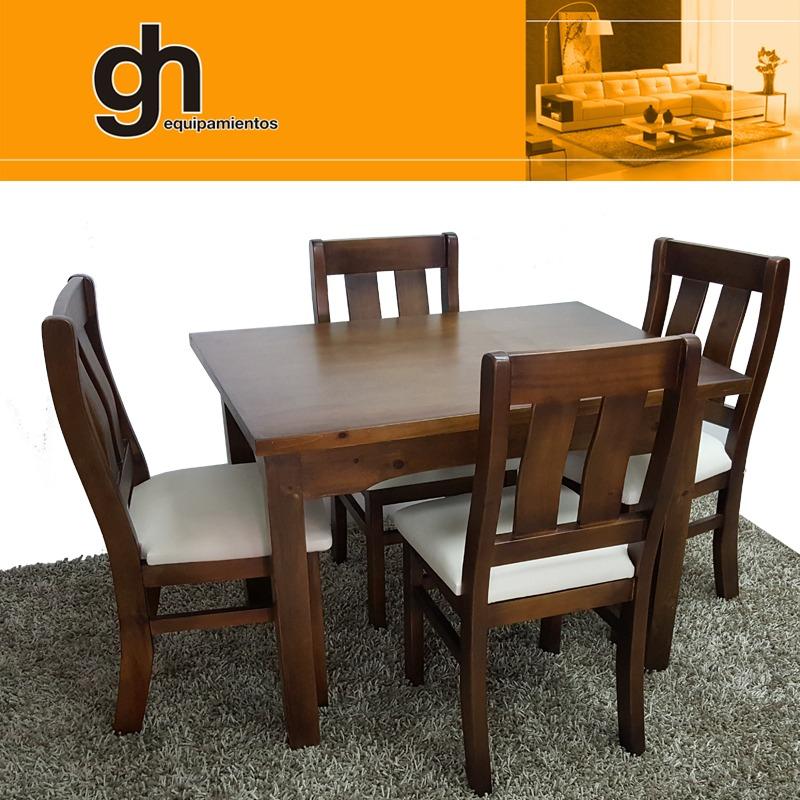 Mesa Y Sillas , Comedor O Cocina,variedad De Modelos Gh - $ 14.990 ...