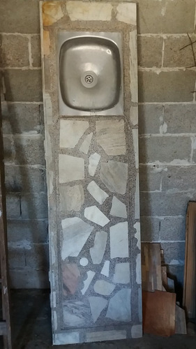mesada de marmol