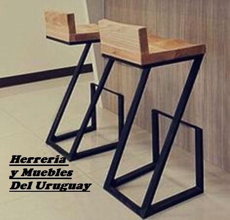 mesas.bancos.banquetas.sillas, estilo industrial y rustico