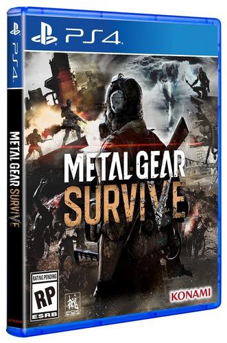 metal gear survive - playstation 4 ps4 - fisico xuruguay