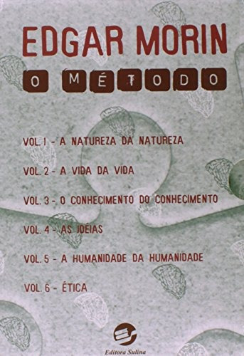 método o 6 volumes coleção completa de edgar morin sulina