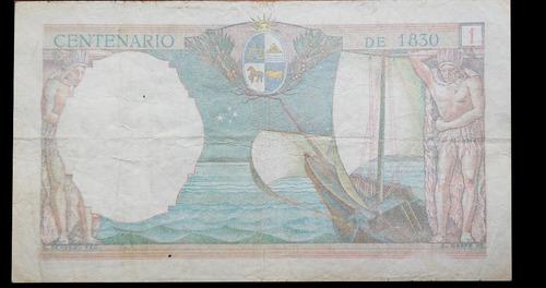 mg* uruguay billete de 1 peso año 1930