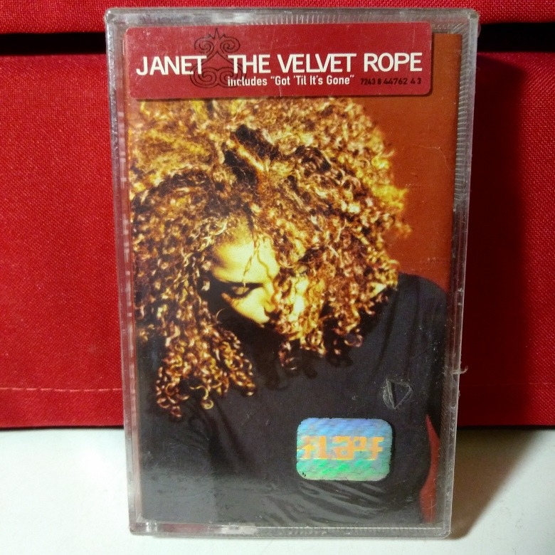 Michael Janet Jackson The Velvet Rope Casete Ed Uk Nuevo
