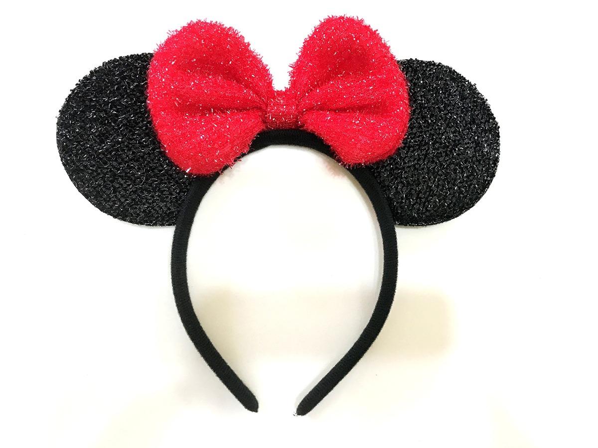 Mickey Mouse Minnie Mouse Ears Diadema Con Chispas: M7 (m - U$S 46 ...