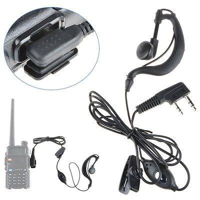 micrófono auricular auricular auricular de 2 pin para baofen
