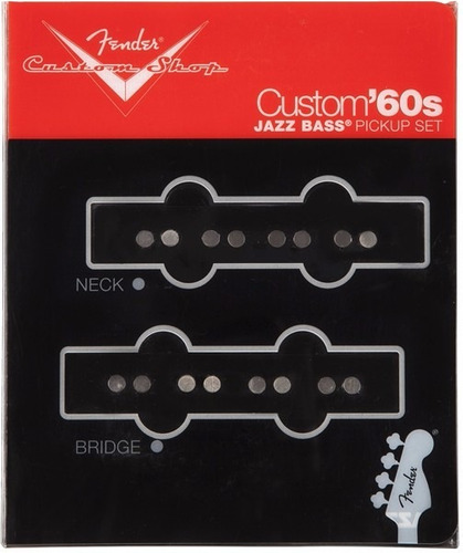 microfono para bajo fender custom shop custom 60s jazz bass
