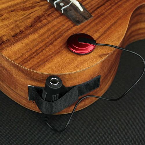 micrófono para guitarra española, criolla, folk o ukelele