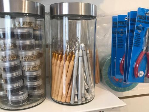 microrings siliconados para extensiones todos los colores