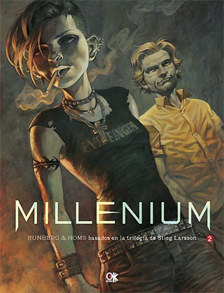 millenium 2 - novela gráfica