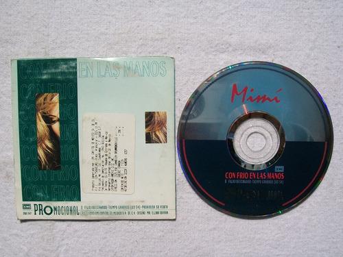mimí. con frio en las manos. cd promo emi 1993