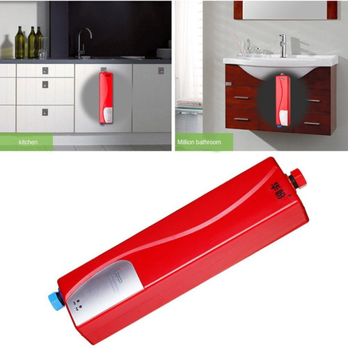 mini calentador de agua instantaneo. on demand. 3000w.