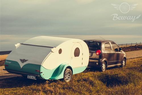 mini camper rodante beway casas rodantes