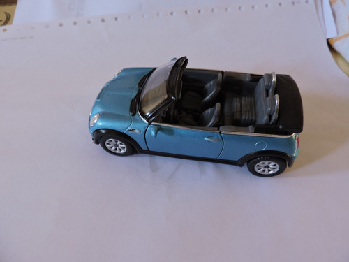 mini coopers. 1/28 azul..- fotos grandes