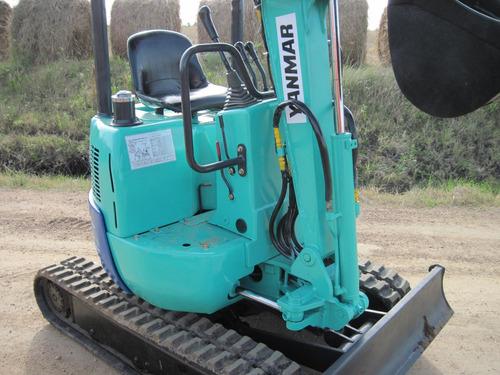 mini excavadora yanmar  re-acondicionada