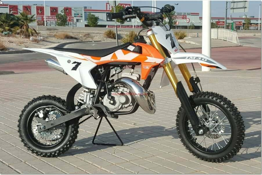 Mini Moto 50cc Cross Nio Tipo Ktm 50junior Reserva La Tuya