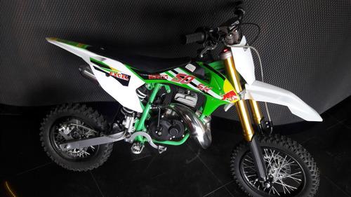 mini moto de cross kxd 50cc 4t y 2t