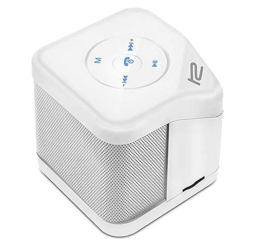 mini parlante bluetooth portatíl klip xtreme color blanco
