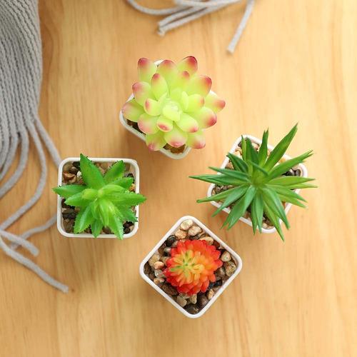 mini planta tuna artificial plantas artificiales en clicshop
