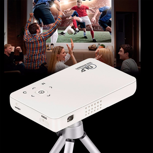 mini proyector gp1sup 1080p full hd hdmi con android amv
