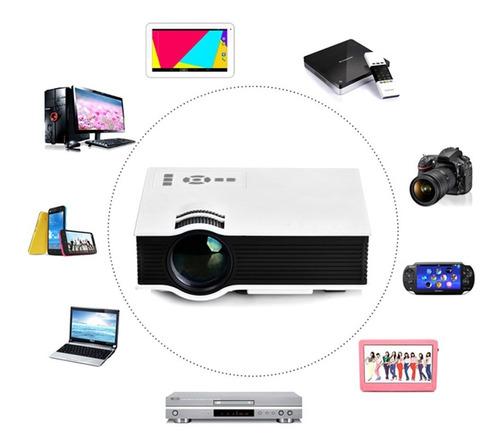 mini proyector led full hd portátil g40+ 1080p 1200 ansi