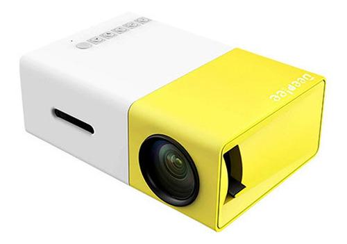 mini proyector led hd 1080p 1300mah para celular