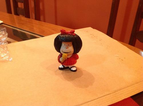 miniatura mafalda em resina com 7 cm - bonellihq e18