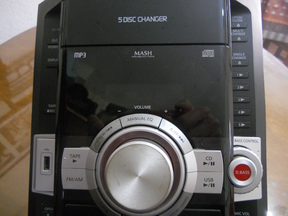 Minicomponente Panasonic Sa Control Funciona