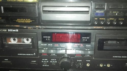 minidisc,tascam, serie md 301.digital
