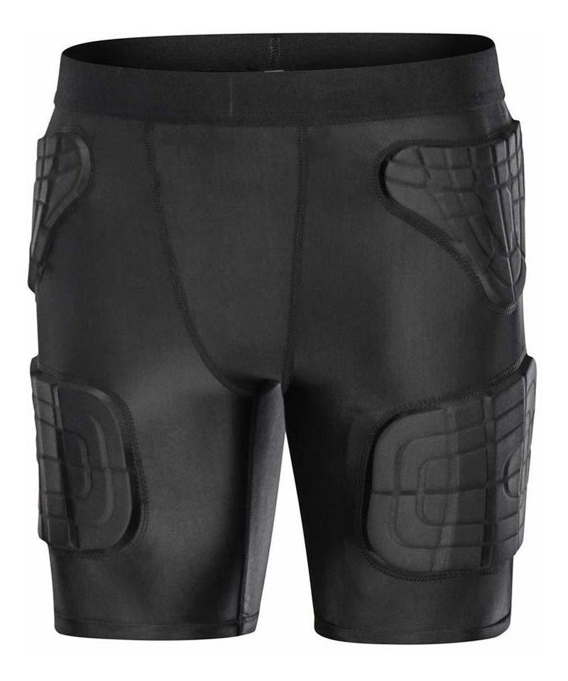 nuevo concepto e7222 832da Minimal Su - Pantalones Cortos De Compresión Acolchados P