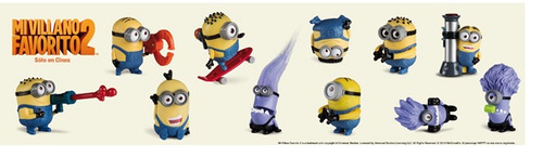minion stuart mi villano favorito 2  mc donalds 2013