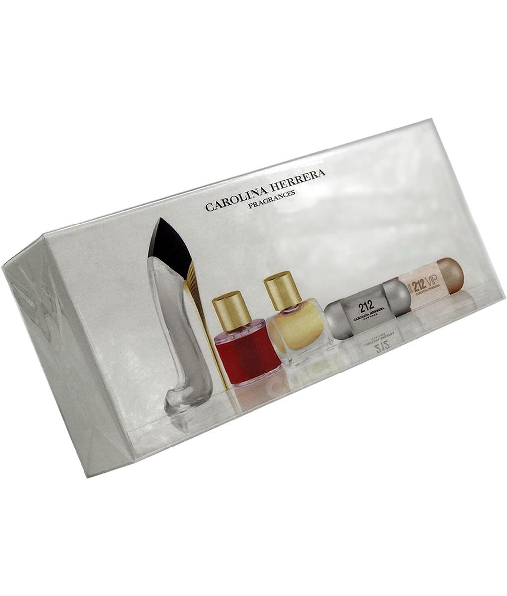 048d116f35559 minitallas de perfume carolina herrera x 5 para mujer. Cargando zoom.