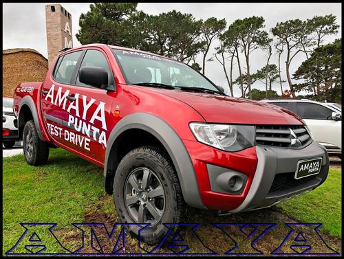 mitsubishi l200 triton outdoor 2.4 flex mt amaya