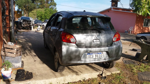 mitsubishi mirage 2016 chocado entero o partes