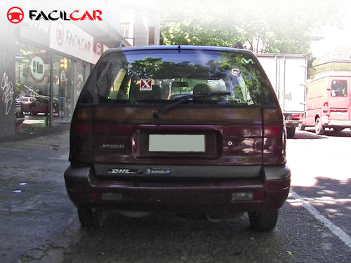 mitsubishi space wagon 1995 nafta 6 pasajeros oportunidad!!