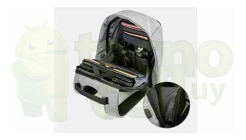 mochila antirrobo impermeable calidad premium tecnocell uy ®