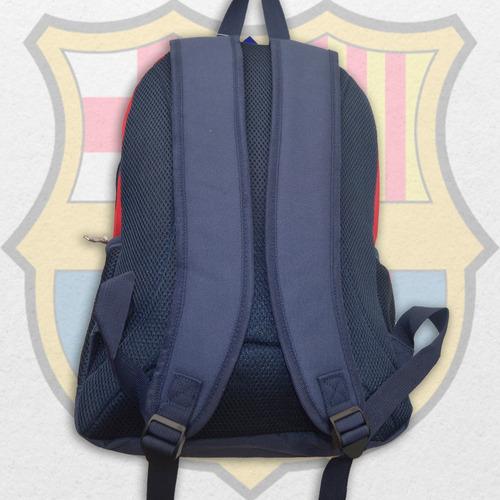 mochila barcelona fc bolso rojo mediana para niño adulto