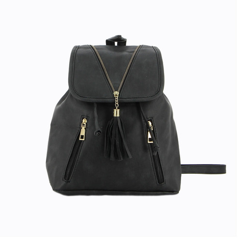 mochila casual de mujer macri negro