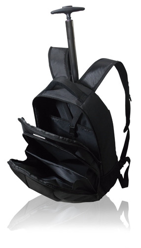 mochila de notebook até 15  multilaser troller c/rodas bo105
