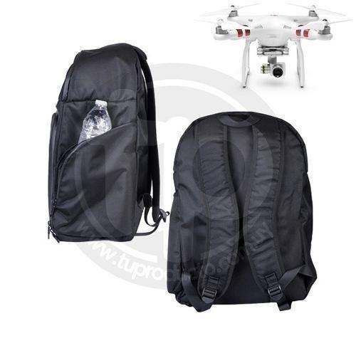 mochila  drones phantom 3 y 4 comportamiento camara