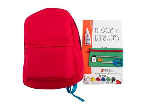 mochila kit 13 - infantozzi materiales