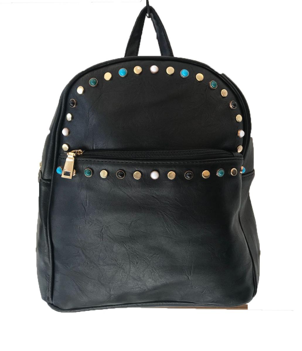 bdc010ed16c mochila negras para dama cartera de mujer varios diseños. Cargando zoom.