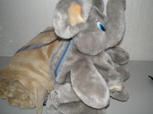 mochila para bebe con manta  para la guarderia