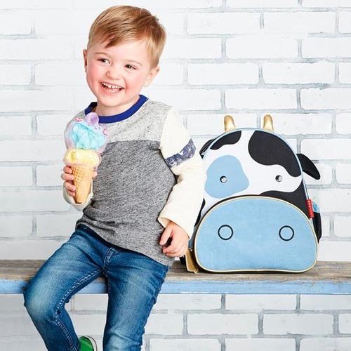 mochila para niños zoo skip hop vaca