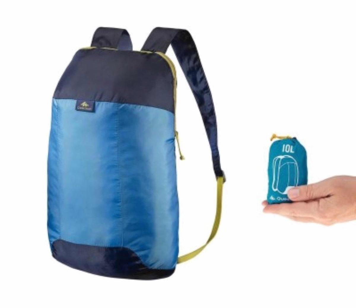 mochila quechua ultracompacta 10 lts. Cargando zoom. ef0a0ee8a7d46