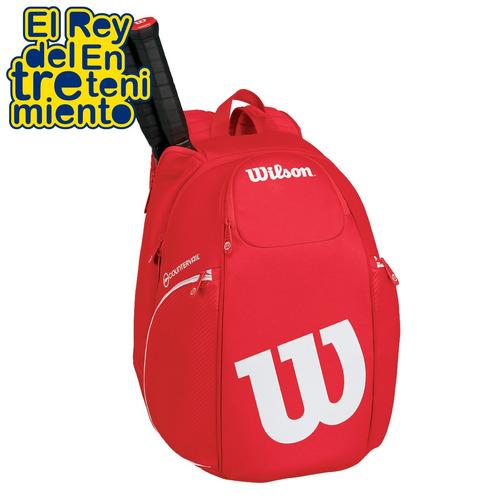 mochila wilson profesional p/ raquetas tennis bolso - el rey