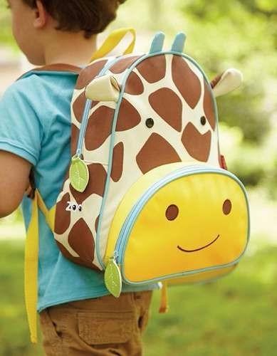 mochila zoo para niños - bebes skip hop jirafa